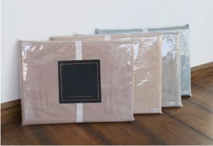 4 Star Hotel Furniture Cotton Bleaching 60 X40 Small Embriodery Bedding Set pictures & photos