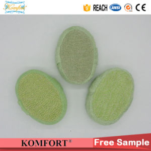 Wholesale Bamboo Charcoal Sisal SPA Pad Shower Bath Sponge pictures & photos