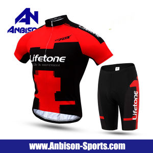 Hot Sale Short Sleeve Shirt and Pants Suit for Summer Cycling Activity pictures & photos