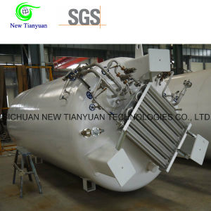 1.26MPa Working Pressure Inner Outer Layer LNG Cryogenic Liquid Tank pictures & photos