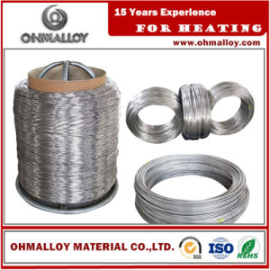 Good Corossion Resistance Ni80chrome20 Alloy Nicr80/20 Wire for Electronic Devices pictures & photos