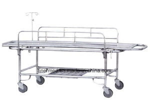Stainless Steel Emergency Stretcher Trolley pictures & photos