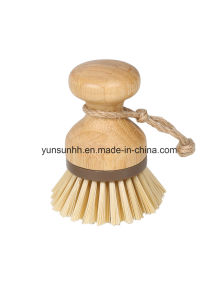 Cleaning Circular Ring Bamboo Handheld Brush pictures & photos