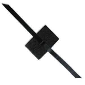 Black Satin Pouch for Vibration pictures & photos