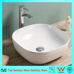 Thin Edge Modern Design China Round Wash Basin pictures & photos