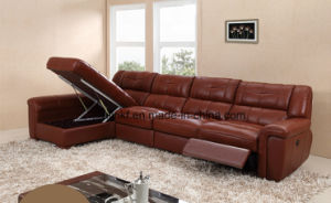 Modern Living Room Leather Function Massage Recliner Sofa (UL-NS519) pictures & photos