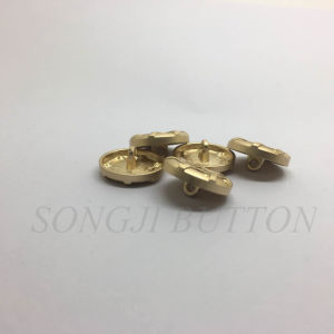 Honeycomb Logo Metal Zinc Alloy Sewing Shank Button for Coat pictures & photos