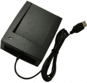 Desktop USB RFID Reader 125kHz for Proximity ID Card Read pictures & photos