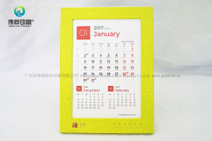 Wholesale 2017 New Design Desk Calendar Paper Printing pictures & photos