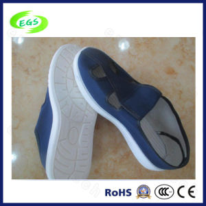 Comfortable PVC White ESD Antistatic Canvas Shoes, Casual Shoes (EGS-603) pictures & photos