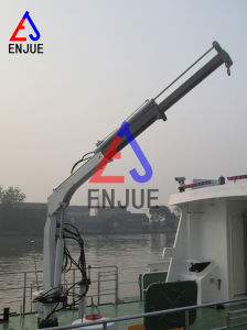 Telescopic Boom Marine Deck Crane Ship Deck Crane for Sale pictures & photos