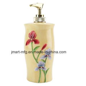 Flower Hand Paint Ceramic Bathroom Accessory / Bath Accessory / Bathroom Set pictures & photos