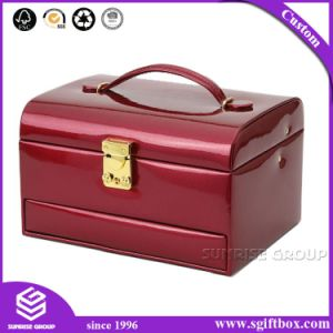 Decorative Handmade PU Leather Gift Packaging Jewelry Boxes pictures & photos