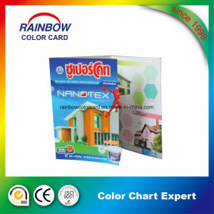 High Quality Professional Brochure Printing Color Chart for Advertisement pictures & photos