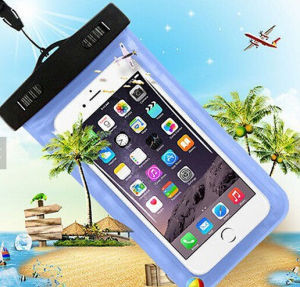 Transparent PVC Mobile Phone Case Waterproof Bag Waterproof Case for iPhone 6 pictures & photos