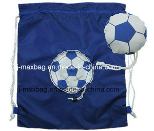 Foldable Draw String Bag, Football, Lightweight, Convenient and Handy, Leisure, Sports, Promotion, Accessories & Decoration pictures & photos