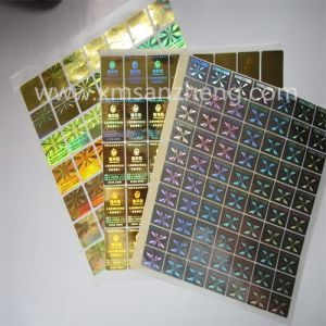 Multiple Layers of Anti-Counterfeit Security Tamper Evidence Hologram Serialized Numbers Labels pictures & photos