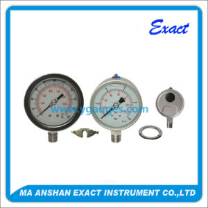 Liquid Filled Pressure Gauge From The Strong Vibration Condition pictures & photos
