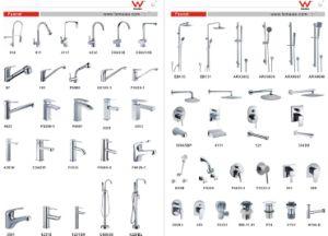 Watermark 4.5~6L/Min Stylish Durable Brass Bathroom Wash Basin Mixer (HD6015) pictures & photos