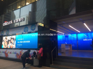 15mm Clear Low-Iron Tempered/Toughened Laminated Glass for Curtain Wall pictures & photos