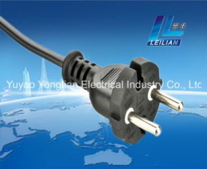 Yl003 European Style Extension Cord Plug with 16A 250V pictures & photos
