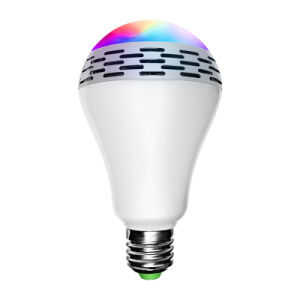 Music Round E27 Multicolors Dimmable 100-240V AC LED Bluetooth Speaker Bulb for Meeting Room pictures & photos