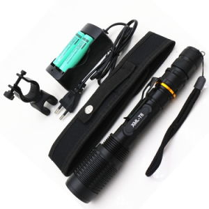 Zoomable Torches 5800lm Xml-T6 LED Flashlight pictures & photos