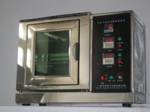Automobile Interior Material Combustion Testing Machine pictures & photos