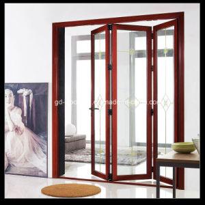 Thermal Break Aluminum Double Glass Bifold Door/Folding/Bifolding Door pictures & photos