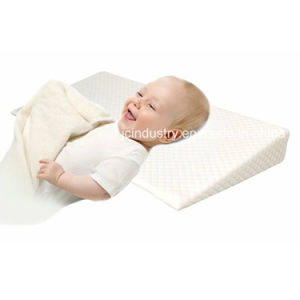 Baby Wedge Pillow with Foam Core pictures & photos