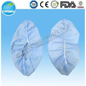 Non-Toxicity Disposable Nonwoven Shoe Cover for Medical, Daily and Surgical Use pictures & photos