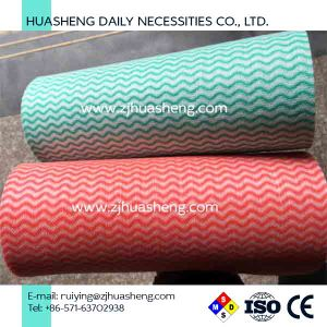 Disposable Nonwoven Roll Wipes pictures & photos