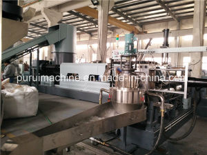 Two Stages Film Plastic Pelletizing Granulation Machine pictures & photos