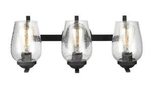 Contemporary Bubble Glass Satin Black Chandelier pictures & photos