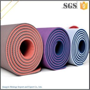 Free Samples! Digital Printed Yoga Mat TPE Yoga Mat Bag pictures & photos