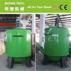 Waste PET plastic flakes hot washing machine pictures & photos
