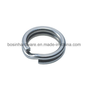 7mm Stainless Steel Double Fishing Split Ring pictures & photos