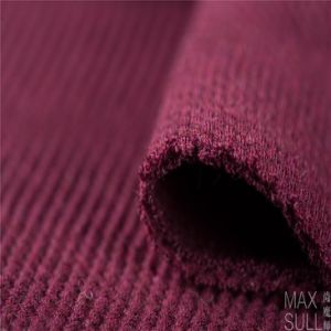 Good Elasticity and Thick Wool and Nylon Fabrics in Red