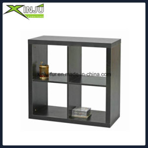 White/Black Functional Wooden 3 Layer Shelf pictures & photos