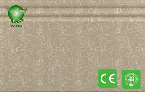 Fashion 300X9mm Waterproof WPC Decoration Wall Cladding for Interior Decoration pictures & photos