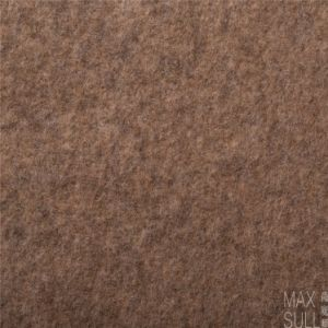 Yark Hair and Wool Fabric with Knitted in Light Brown pictures & photos