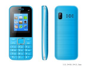 Wholesale 32MB+64MB 1.8inch TFT Display Bluetooth Dual SIM Feature Elderly Phone A7 pictures & photos