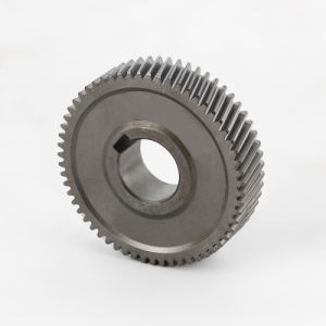 Steel Pinion Helical Gear for Printing Machine Bevel Gear