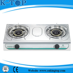 Nature Gas Gas Stove with Cast Iron Burner pictures & photos