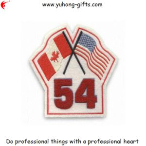 Wholesale Custom Embroidered Patch for Uniform (YH-EB162) pictures & photos