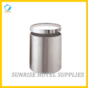 Hotel Round Shape Waste Basket with Removable Ring pictures & photos