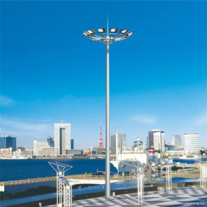 18m, 20m, 25m, 30m, 35m High Mast Lighting Pole Tower with Raising & Lower System pictures & photos