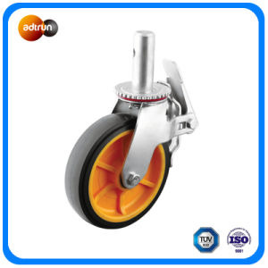 Heavy Duty Round Stem Full Locked Casters pictures & photos