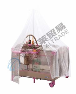 En716 Approved Baby Playpen with Luxury Mosquito Net pictures & photos