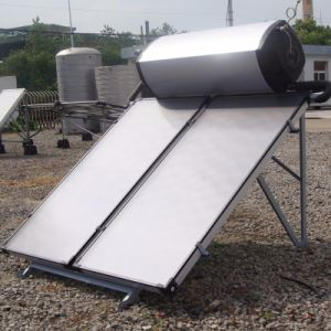 200L Solarkeymark Standard Compact Pressurized Flat Plate Solar Water Heater pictures & photos
